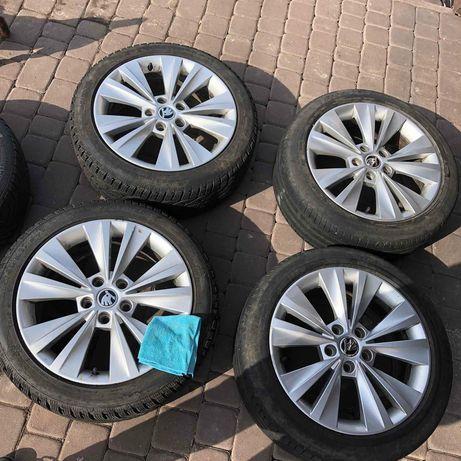Диски 5x112 с резиной в комплекте Skoda Audi VW Seat BMW