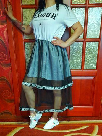 Спортивное платье туника.