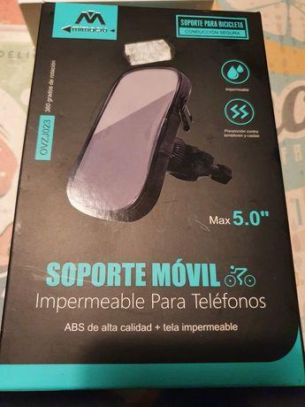 Suporte telemóvel até 5 polegadas Moto/Scooter
