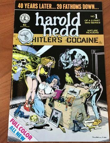 Rand Holmes- Harold Hedd Hitler's Cocaine 1 [Kitchen Sink] inc. portes