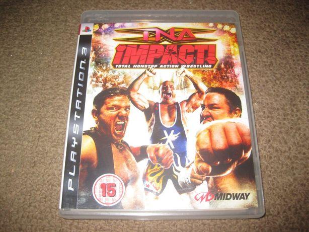 "Jogo ""TNA Impact!"" PS3/Completo!"