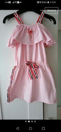 Sukienka hiszpanka dziewczęca 104