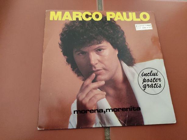Disco Vinil Marco Paulo- Morena, Morenita