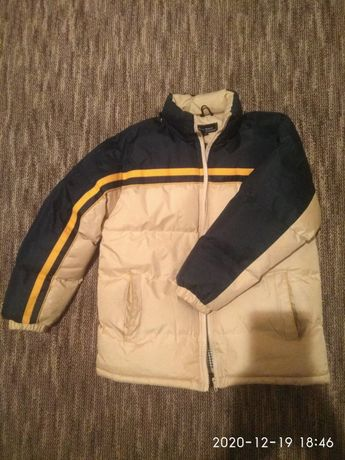 Зимняя куртка для мальчика 10-12 лет