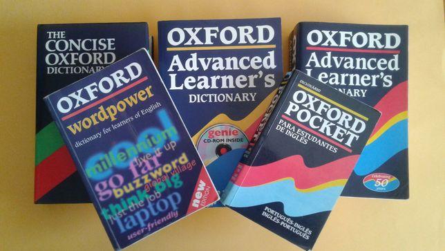 Dicionários De Inglês da OXFORD