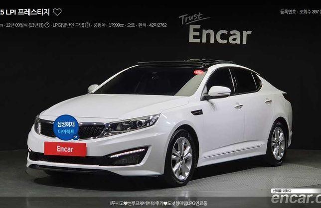 Kia Optima / Kia K5 LPI Prestige 2.0 2013 LPG з Кореї!
