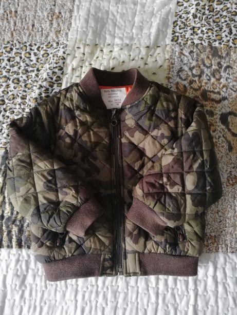 Kurtka bomberka moro, Zara Babyboy, rozmiar 86-92