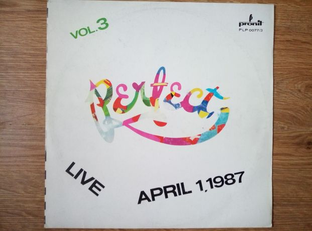 Perfect live April 1, 1987 vol 3. winyl.