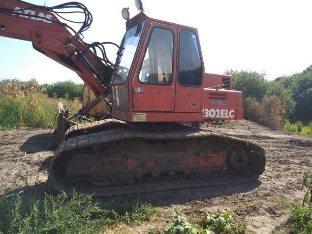 Продам экскаватор гусеничный (болотник) ATLAS 1302 ELC