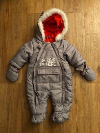 Macacão de inverno de bebé/ roupa quente
