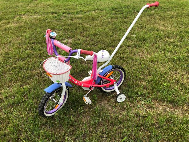 Rower dziecięcy 14 cali Tabou Mini 14 różowy