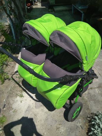 Продам коляску для двойни Angelina Viper Duo