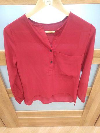 Burgundowa bluzeczka