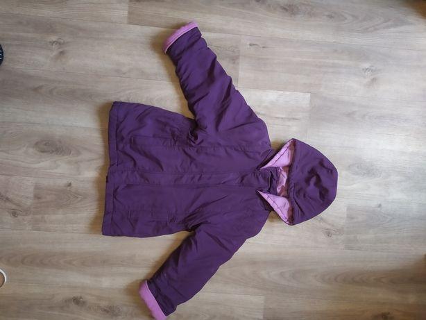 Курточка фиолетовая на девочку