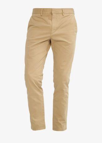 Spodnie chinosy beżowe beige