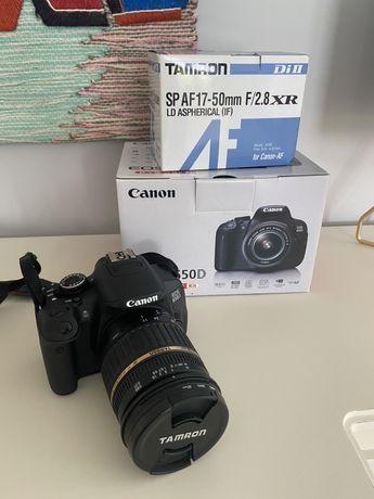 Aparat Canon EOS 650d z obiektywem Tamron
