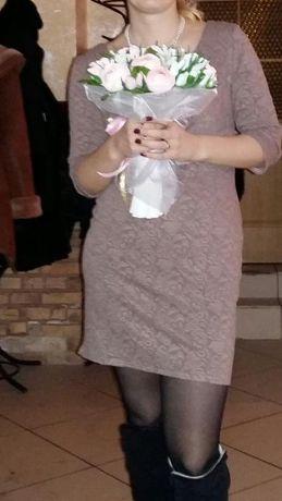 Платье празничное р 48