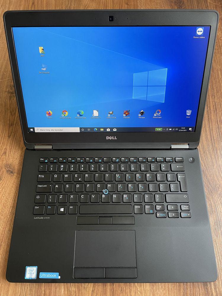 """Laptop DELL Latitude E7470 i5-6300U/8GB/128SSD/14,1""""FHD/SC/Win10"""