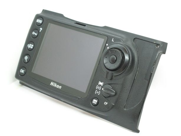 Nikon D700 tampa traseira completa LCD display  ecrã