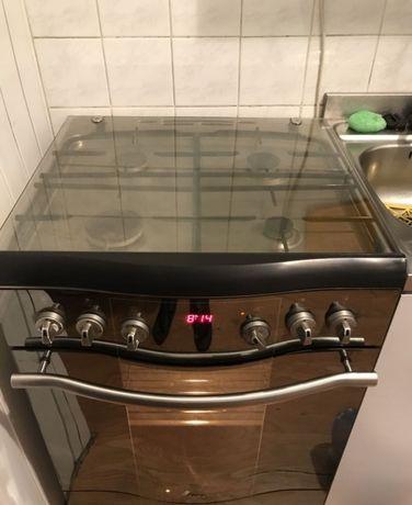 Kuchenka gazowa Amica Premium INOX 60 zadbana