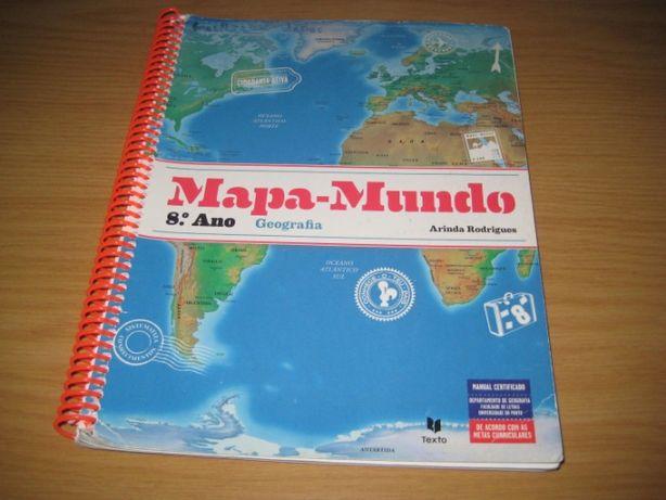 Mapa mundo 8º ano/vários