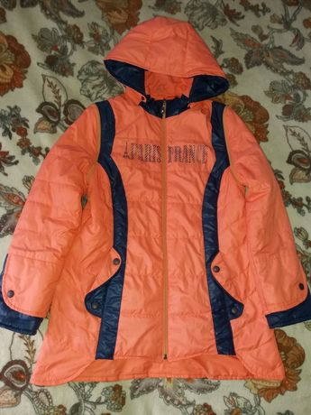 Куртка жилетка демисезонная 140 - 156 см 10 - 12 лет