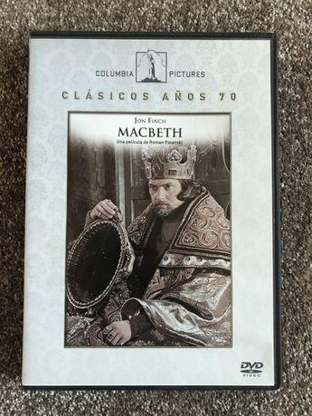 "DVD ""Macbeth"" - Roman Polanski, 1971 (Ed. Esp. legendada em Pt.)"