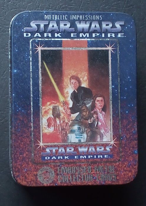 star wars dark empire embosseb metal collector cartas Barreiro E Lavradio - imagem 1