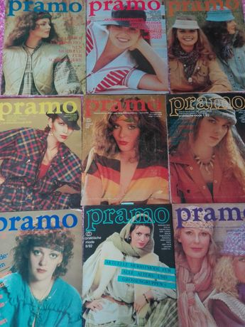 Pramo gazety lata 80-te wykroje