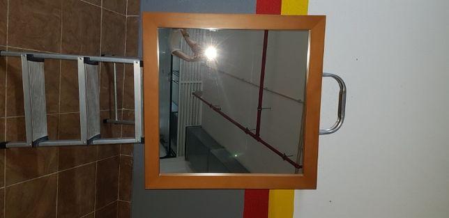 Espelho Cerejeira Paços de Ferreira Moldura Quadrada
