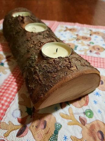 Підсвічник дерев'яний