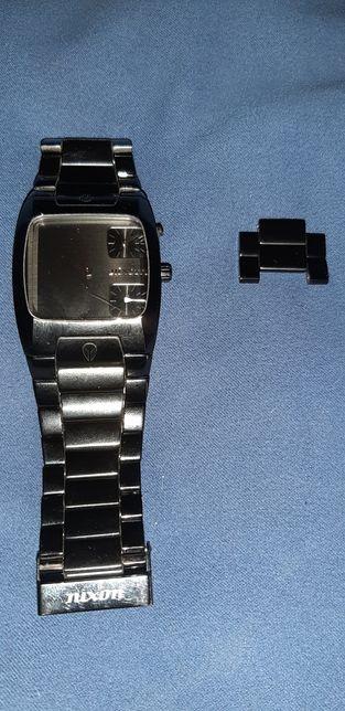 Zegarek Nixon duży ciężki brasoleta obniżka o stowe