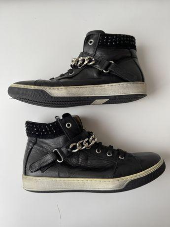 Детские демисезонные кожаные ботинки, кеды Zanotti. 35 размер