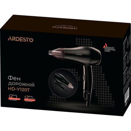 Фен Ardesto HD-Y120T/ дорожный/1800Вт/складная ручка/2 скорости/ 2 тем
