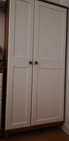Roupeiro / armário criança / infantil madeira maciça da Trama