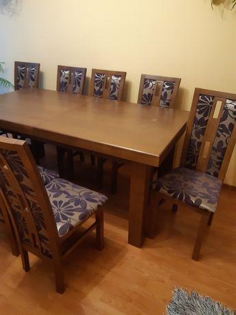 Stół z 10 krzesłami