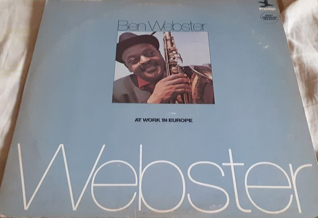 Грампластинка Ben Webster ‎– At Work In Europe.