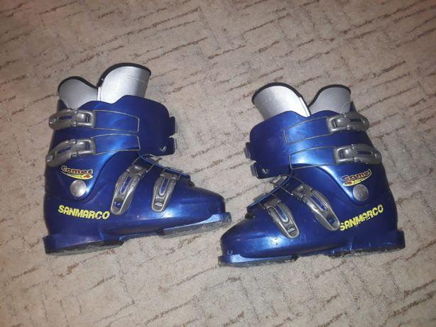Buty narciarskie, dziecięce 282mm - rozmiar stopy max 23cm