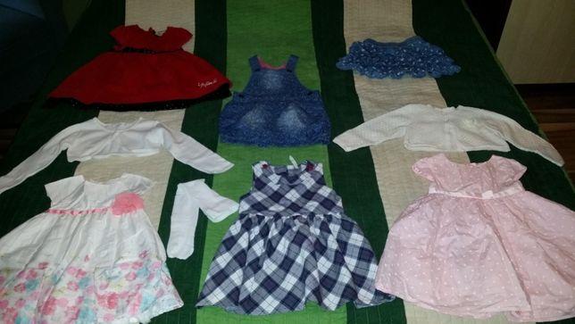 Paka ubranek dla dziewczynki 80-92 cm marki Cool Club, H&M, Next