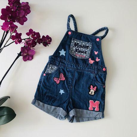 Комбинезон джинсовый Disney Міні Маус 3 4 года