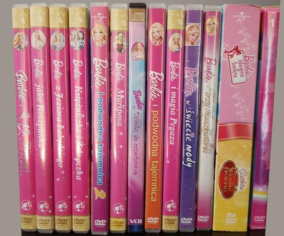 Bajki na dvd Barbie i inne