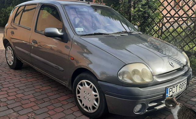 Szare Renault Clio 2000