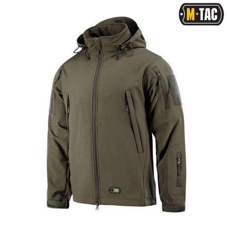 Куртка тактическая Soft Shell (софтшел) M-tac Olive, Tan, N.Blu, Black