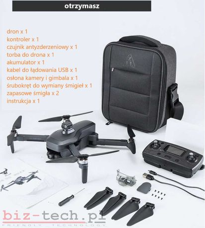 Dron SG906 MAX czujnik antyzderzeniowy 4K GPS dwie kamery aplikacja