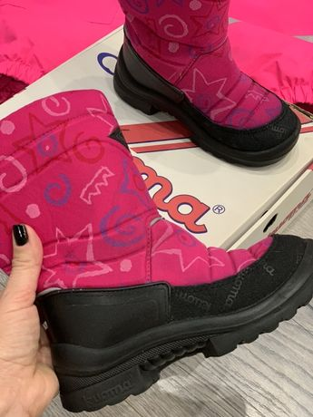 Термо ботинки сапожки Cuoma 30р