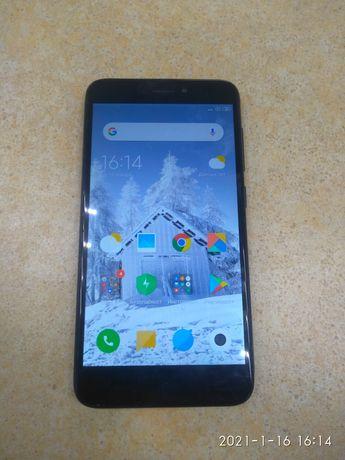 Xiaomi Redmi 4 x 2/16 Gb Black с 3d стеклом + антиударным чехлом