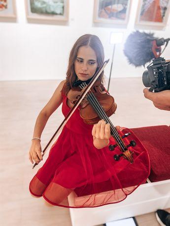 Violinista/ aulas de violino/corte do bolo/ casamentos e eventos