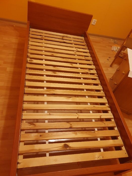 Łóżko jednoosobowe w bardzo dobrym stanie Szczecin - image 1
