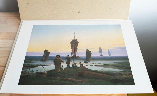 6 Obrazów plakatów Caspar David Friedrich 1974rok