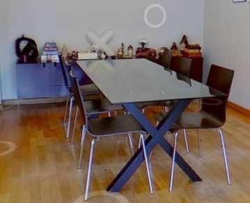 Mesa Jantar com tampo em Vidro